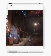 Sci-Fi alley way iPad Case/Skin