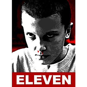 Eleven Stranger Things by GKdesign