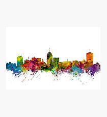 Fresno California Skyline Photographic Print
