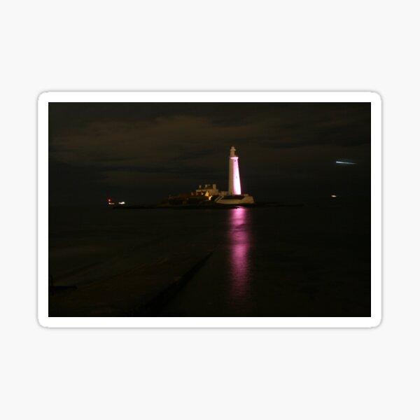 St Mary's Lighthouse Sticker