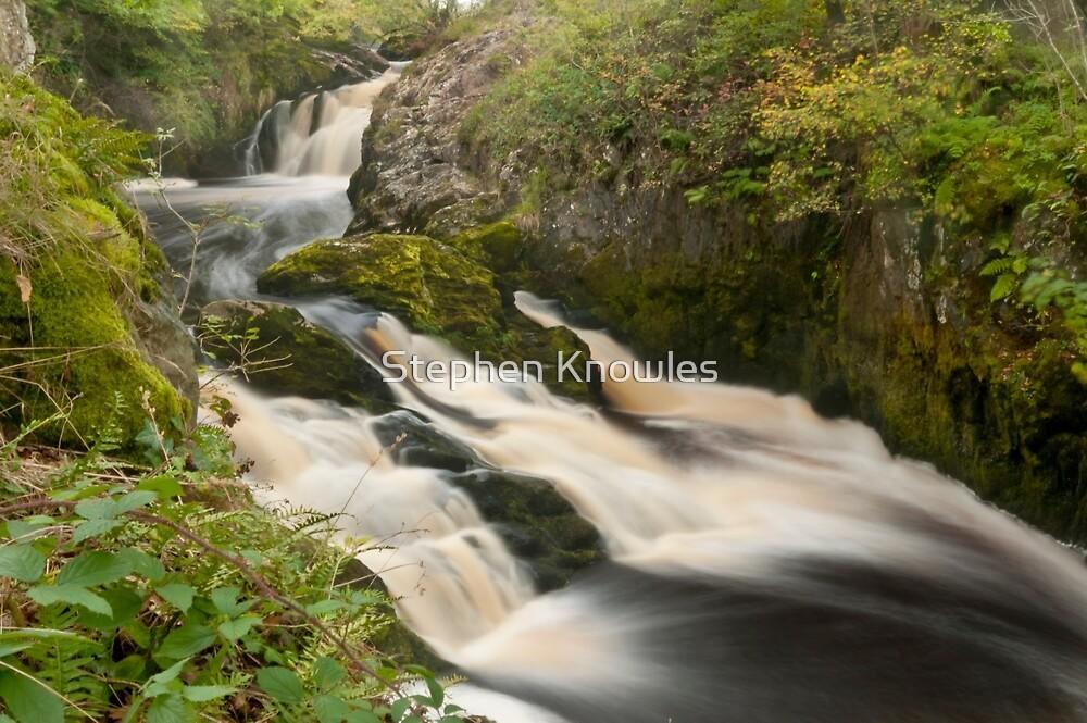 Beezley Falls, Ingleton by Stephen Knowles