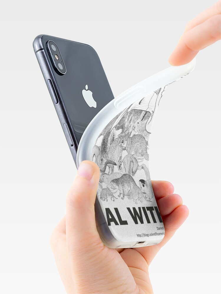 Alternate view of There are a lot of rodents iPhone Case & Cover