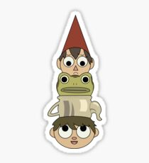 Over the Garden Wall Totem Sticker