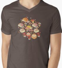 Woodland Hedgehogs - a pattern in soft neutrals  T-Shirt