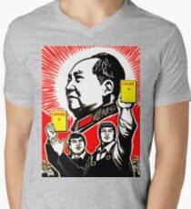 CHAIRMAN MAO 4 Men's V-Neck T-Shirt
