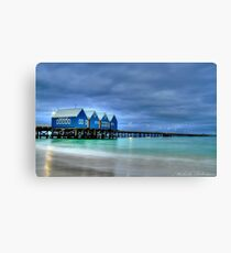 busselton jetty 2 Canvas Print