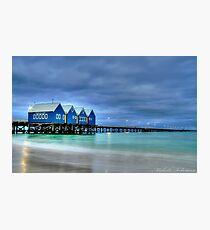 busselton jetty 2 Photographic Print