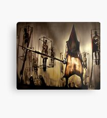 Pyramid Head Metal Print