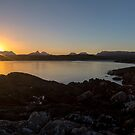 Assynt Mountain Sunrise by derekbeattie