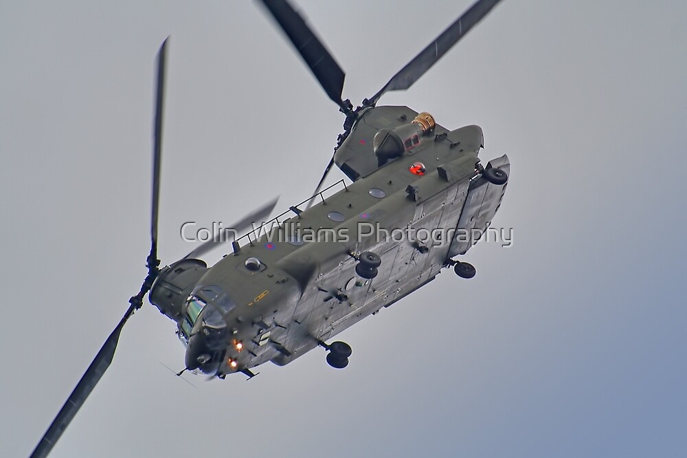 RAF Odiam Display Chinook - Dunsfold 2013 by Colin  Williams Photography