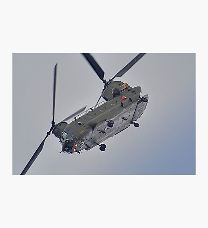 RAF Odiam Display Chinook - Dunsfold 2013 Photographic Print
