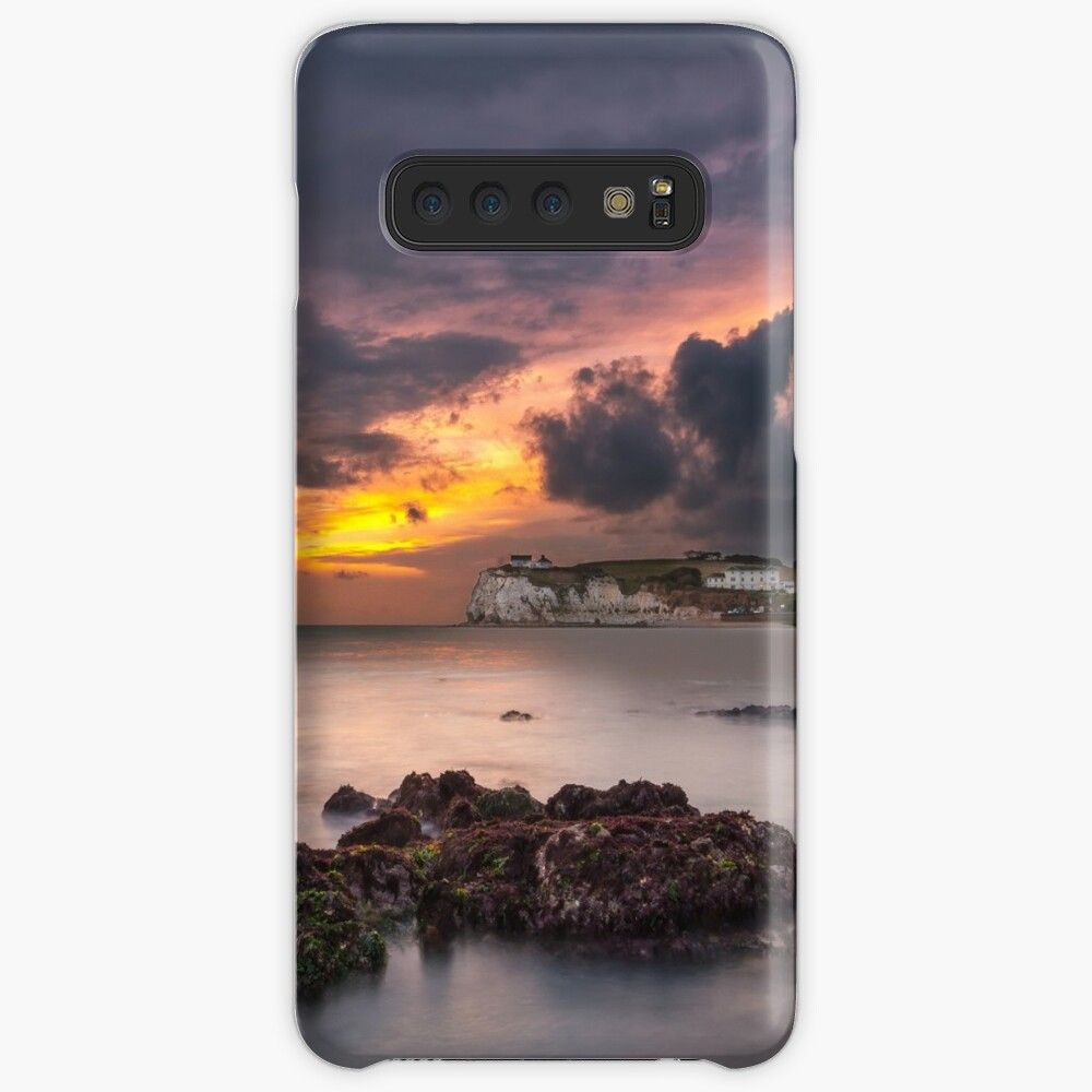 Storm At Freshwater Bay Case & Skin for Samsung Galaxy