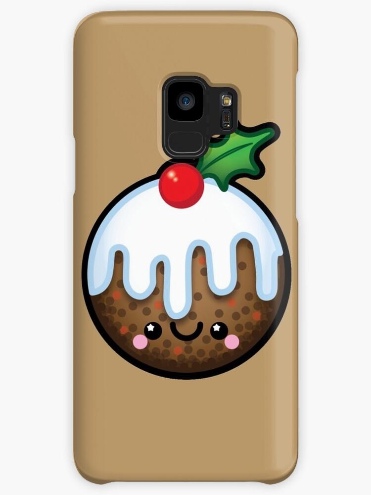 Cute Kawaii Christmas Pudding\