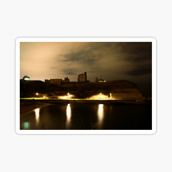 Tynemouth Priory Sticker
