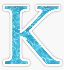 Kappa-water Sticker