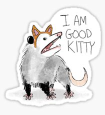"Pegatina Diseño ""I AM GOOD KITTY"""