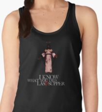 I Know What You Did Last Supper Women's Tank Top