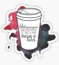Mit großer Kraft ... [Percy Jackson] Sticker