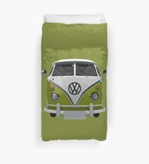 VW Bus Happy II Duvet Cover