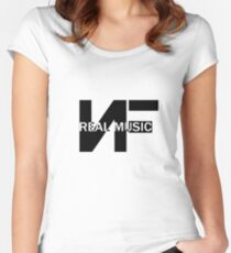 Nf real music Women's Fitted Scoop T-Shirt