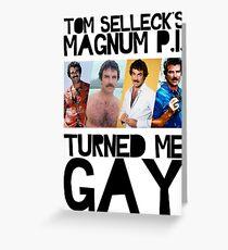 Magnum P.I. Greeting Card