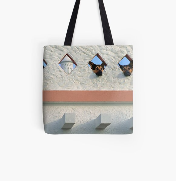 Algarve Dogs All Over Print Tote Bag