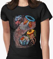 Vintage Qualle von Ernst Haeckel Tailliertes T-Shirt