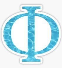 Phi-water Sticker