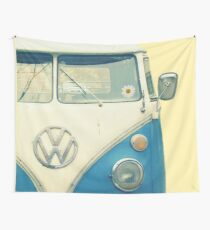 VW Bus Chillin Wall Tapestry