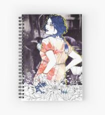 Girl's Diary Collection - Night Street Spiral Notebook