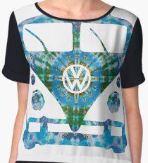 VW Tie Dye Women's Chiffon Top
