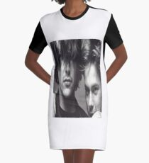 River & Keanu Graphic T-Shirt Dress