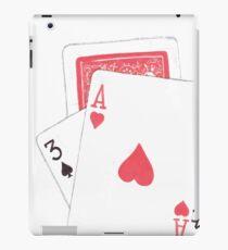 Card Trick iPad Case/Skin