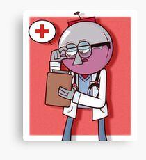 Calling Dr. Benson Canvas Print