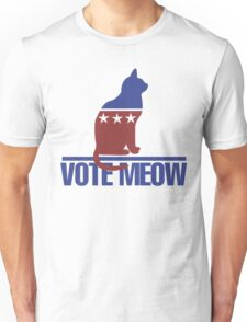 Vote MEOW Unisex T-Shirt