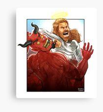 Christ Hero Canvas Print