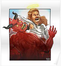 Christ Hero Poster