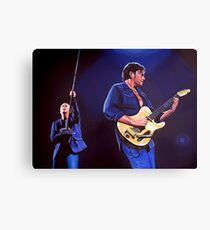 Simple Minds Painting Canvas Print