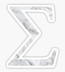 Sigma-marble Sticker