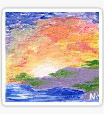 Acrylic Sunrise Sticker
