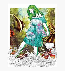 Girl's Diary Collection - Water Photographic Print