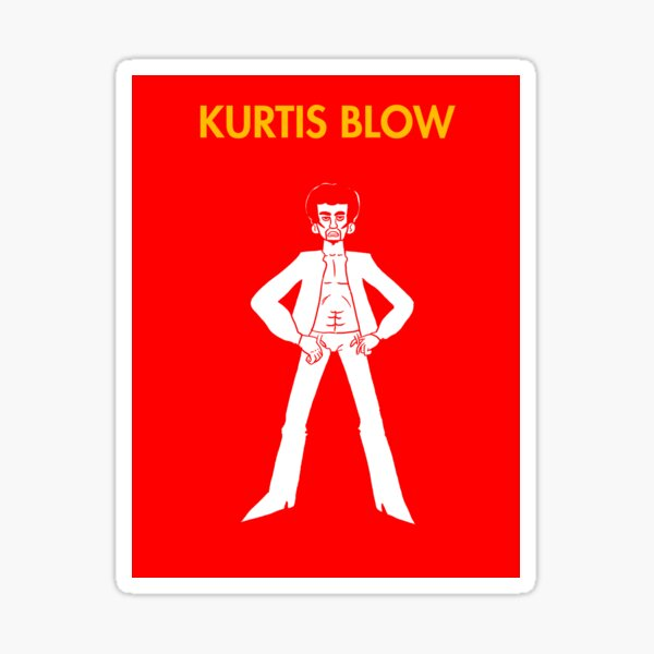 Kurtis Blow Sticker