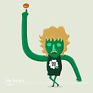Larry Flippin' Bird by mykowu