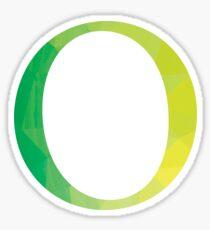 Omicron-green Sticker
