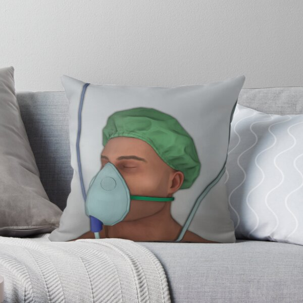Surgeon Simulator 'Bob' - Official Merchandise Throw Pillow