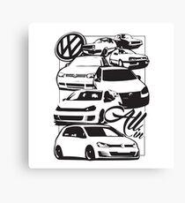 Volkswagen All In Canvas Print