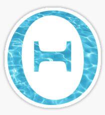 Theta-water Sticker