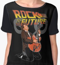 Rock to the future Chiffon Top