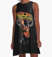 Rock to the future A-Line Dress