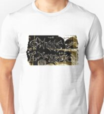 Cheese Excursion Psychedelic Logo Unisex T-Shirt